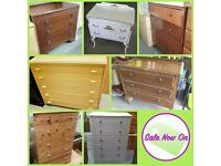 Large Selection Of Furniture, Drawers, Wardrobes, Sofas, Table & Chairs, Appliances, Bedsides & MORE