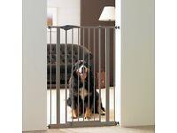 Savic Dog Barrier Door - Warm Grey New in Box