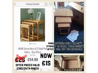 Furniture for sale most new in box offers reduced through the weekend
