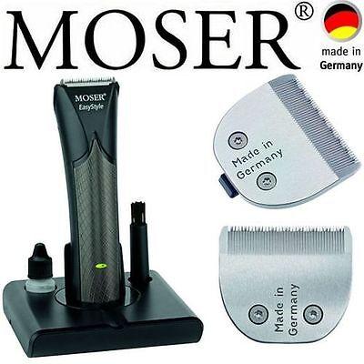 MOSER EASY STYLE BART-/HAARSCHNEIDER 0,1MM - 25MM+MEDIZINISCHER FEIN SCHNEIDSATZ
