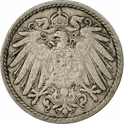 100 years old German Empire coin, Kaiser Reich pfennig pre WW1