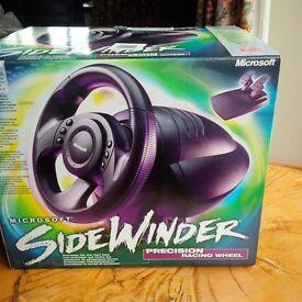 Microsoft Sidewinder Gaming steering wheel