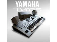 [refurbished] TYROS + speakers + HDD + USB + pedal [optional PA 2x100W system] WARRANTY