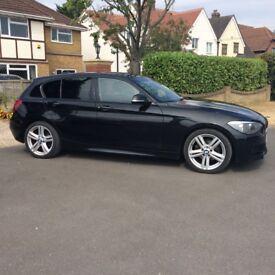 "BMW 120D M SPORT 5 DOOR, CLIMATE CONTROL, BLUETOOTH, 18"" M Sport Alloys"