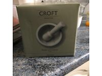 Croft Collection Marble Pestle and Mortar, White (Brand New)