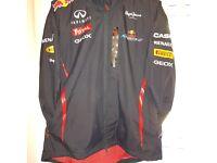redbull formula 1 coat with base ballhat
