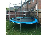 10 ft Trampoline in good condition can be delivered