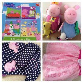 Peppa Pig bundle.