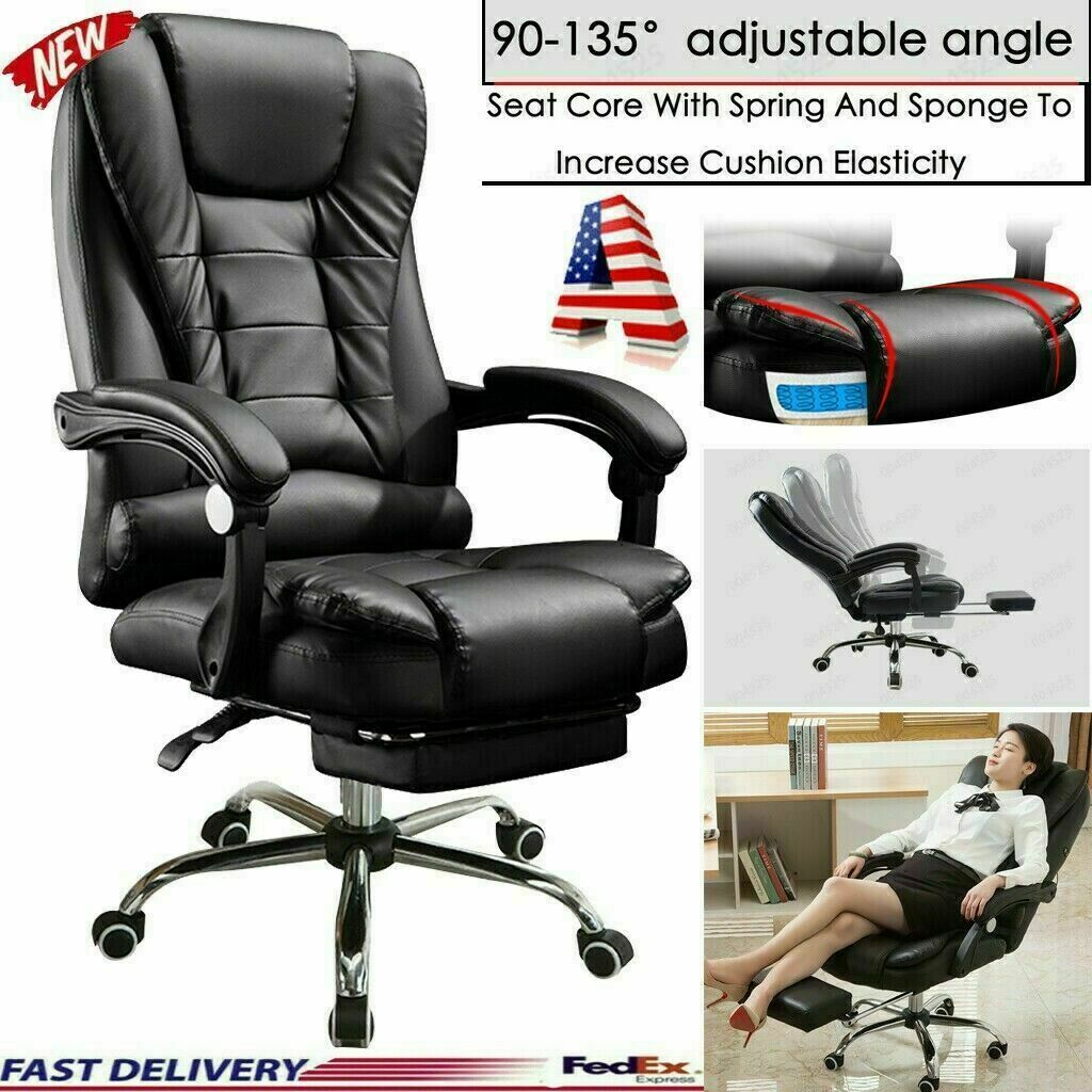 high back racing style gaming chair reclining