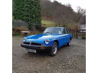 Fabulous Rock Solid MGB GT For Sale For Sale (1978)