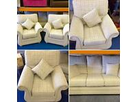 Beautiful 3 Piece Suite - Brand New