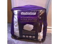 Slumberdown Heated Under Blanket Double -Electric NEW! **UNDER RETAIL**