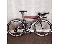 BMC TM01 TT bike / DI2 Dura Ace/ Shimano C50 wheels/size smal