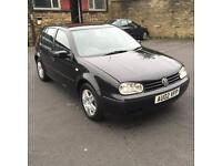2002 VOLKSWAGEN GOLF GTTDI PD130 1896cc TURBO DIESEL MANUAL 6SPEED 5DOOR HATCHBACK