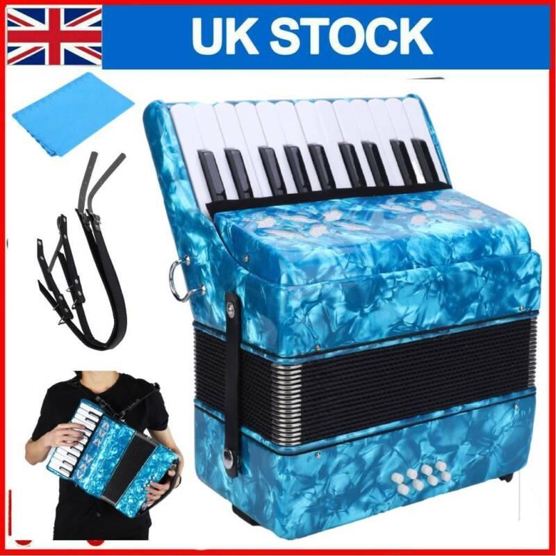 Piano Accordion 22 Keys 8 Bass