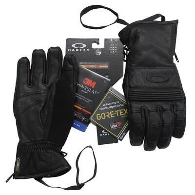 Oakley Ski Gloves - Oakley Silverado Gore-Tex Glove Large Blackout Waterproof Ski Snow Board Gloves