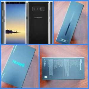 BNIB Samsung Galaxy S8 ($700), Note 8 ($1000), Unlocked! Genuine Canadian Models, Unlocked!!!*****