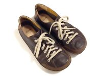 Brown leather Clarks size 9