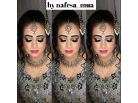 City and guilds certified Nafesa hair & makeup MUA artist qualified special offers limited time