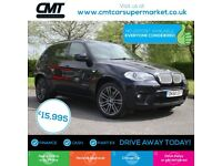 BMW X5 3.0 40d M Sport xDrive 5dr Good / Bad Credit Car Finance