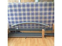 Double bedframe with mattress