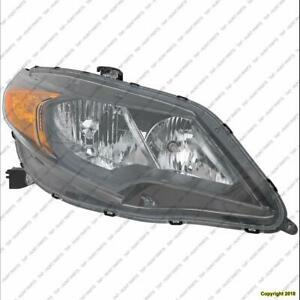 Headlight Passenger Side Coupe High Quality Honda Civic 2014-2015