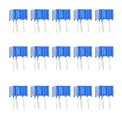 15pcs 15 Values 3362p Trim Pot Trimmer Potentiometer Kit Assorted Resistors
