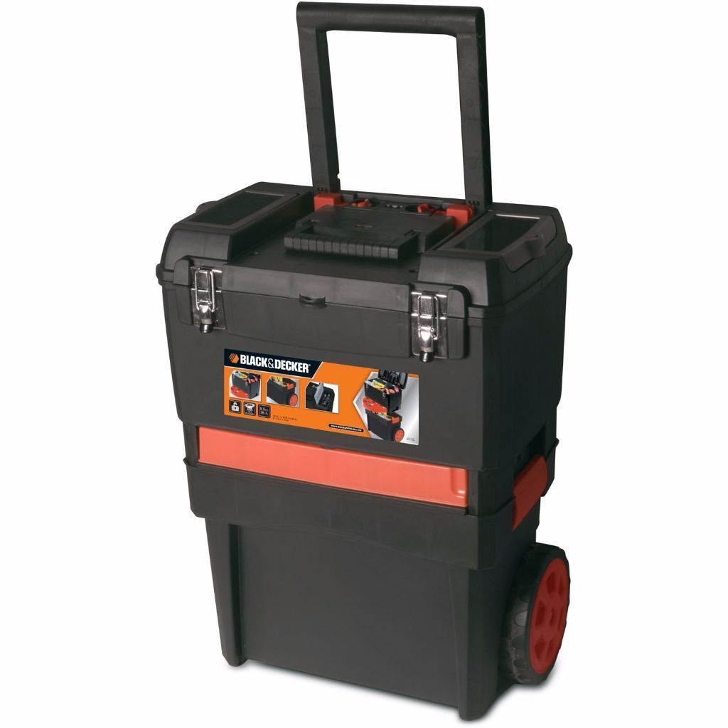 Black And Decker Mobile Work Station Tool Chest Tool Box