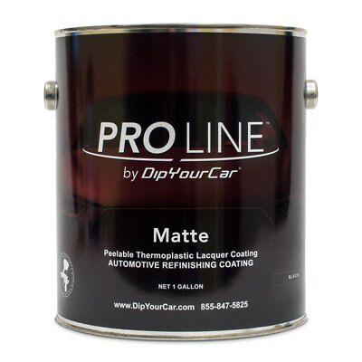 1 Gallon Dipyourcar Pro Line Matte Black Plastidip Dyc Plasti Dip
