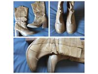 Various shoes and items for sale