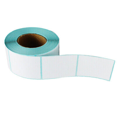 300pieces Direct Blank White Label Rolls Thermal Self Adhensive Sticker
