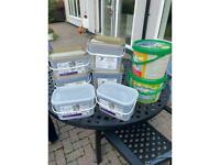 Free plastic containers