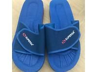 Brand New Size 10 Superga Sliders / sandals / flip flops