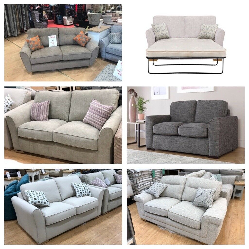 Half Price 2 3 Seat Sofas From 299