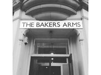 Bar/Waiting & Kitchen Staff... team expansion at The Bakers Arms!
