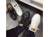 Giuseppe Zanotti Low Trainers BLACK OR WHITE ANY SIZE GOOD PRICE