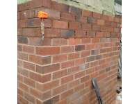 Bricklayer available time served,40 yrs in the trade gold cscs card