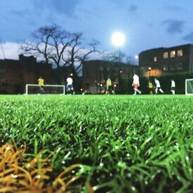 Spaces in Shoreditch 5-a-side league!
