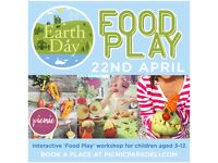 Earth Day - Food Play Kids Workshop - Bournemouth Lower Gardens