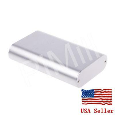 Aluminum Project Box Enclosure Case Electronic Diy 110x70x24mm Sliver Us Stock
