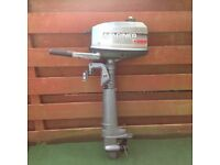 Mariner 4hp short/shaft two stroke outboard engine