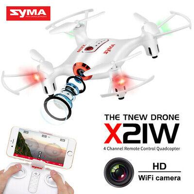 RC Drone SYMA X21W FPV WIFI HD Camera Altitude Hold Headless Kid Great Xmas Gift