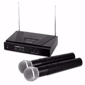 Wireless Karaoke (Kam Kwm11, Twin Radiomic System Vhf)