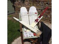 Gunn & Moore Cricket Set - Youth (Used but in generally good condition)