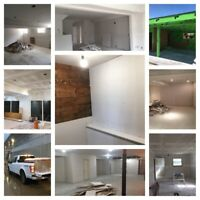 Professional Framing,Drywall and finishing services