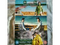 Breaking Bad Complete Season 1 2 3 DVD BOX £15 ONO