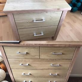 Drawers & Bedside Cabinet