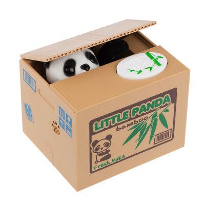 Divertida Electrónica Panda Caja de Dinero de la Hucha Hucha Hucha