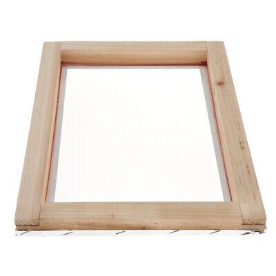 Screen Printing Wood Frame Silk Print Mesh 43t 10x14inch For Screen Printing