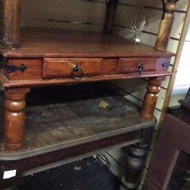 Fruitwood coffee table
